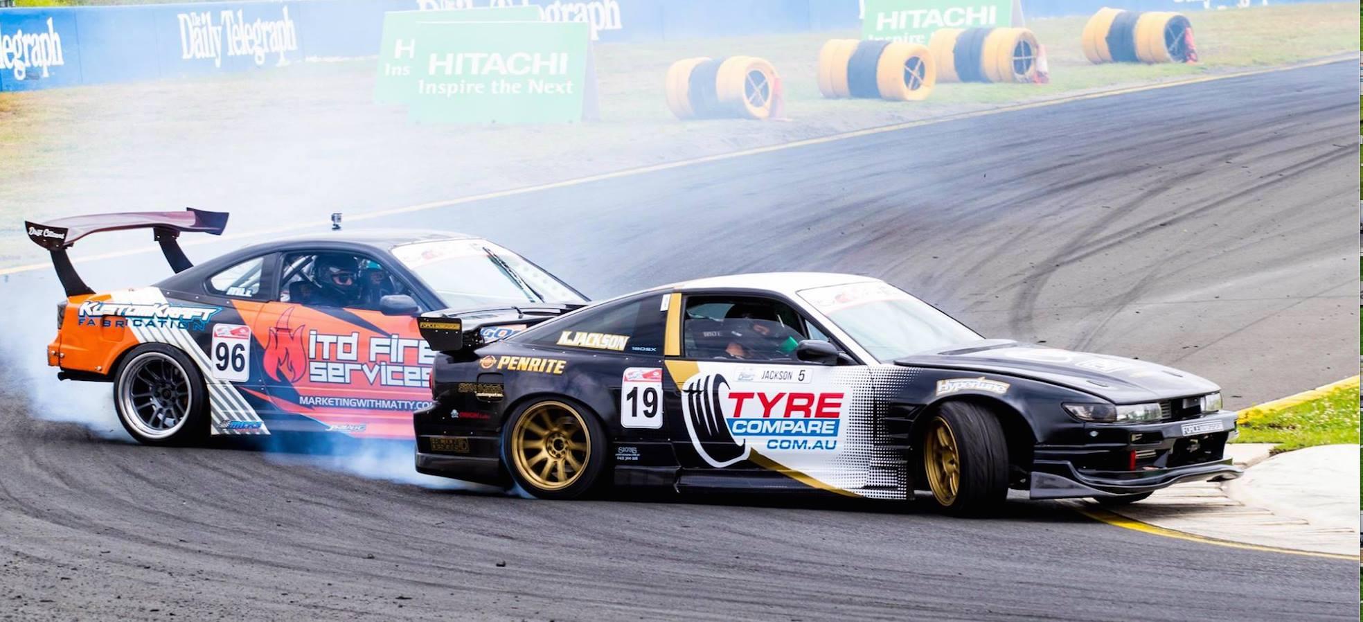 Drift car tyre compare