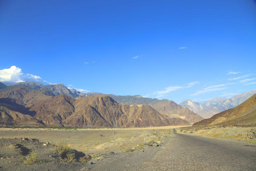 Kakoram Highway in Pakistan