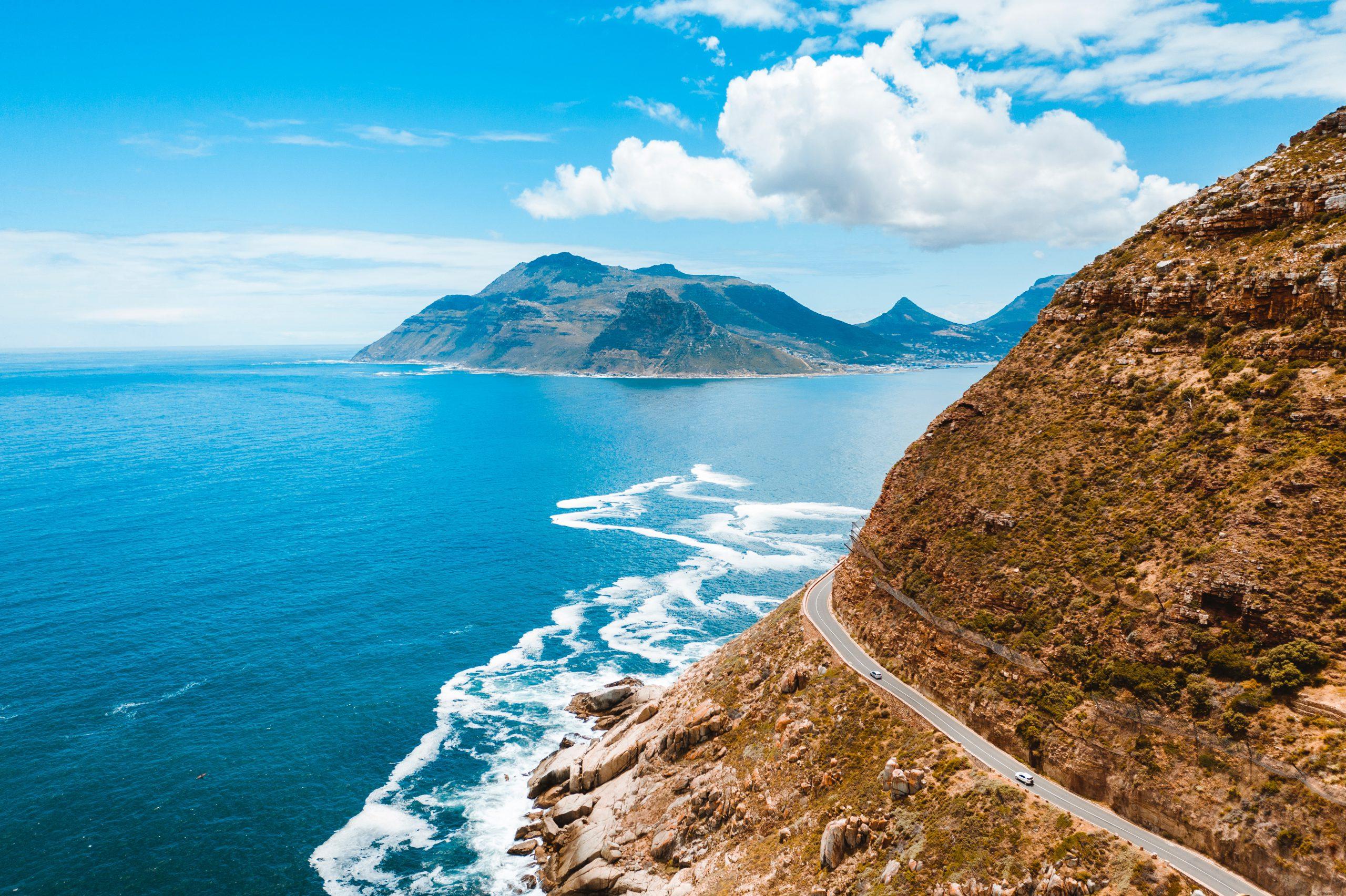 Chapman's Peak in South Africa
